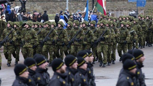 """""""Scanpix""""/AP nuotr./Estijos Nepriklausomybės dienos minėjimas"""