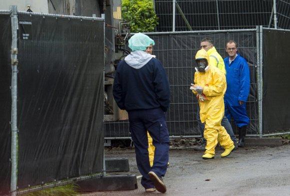 """""""Reuters""""/""""Scanpix"""" nuotr./Hekendorpo fermoje aptiktas paukščių gripas"""