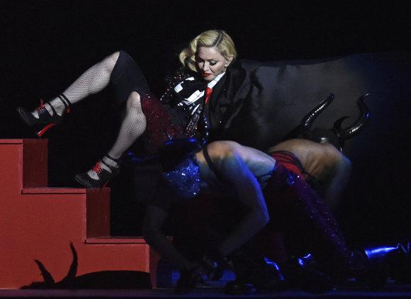 """""""Scanpix""""/AP nuotr./Madonna"""
