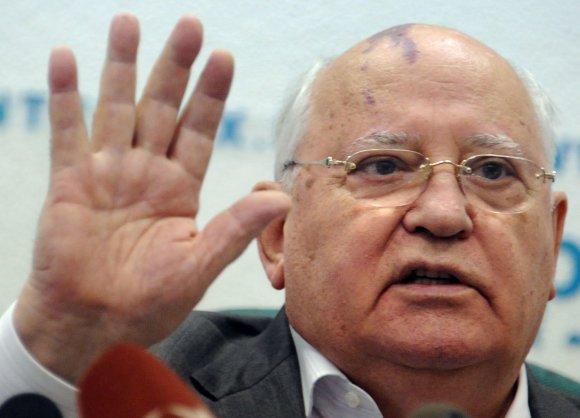 """AFP/""""Scanpix"""" nuotr./Michailas Gorbačiovas"""