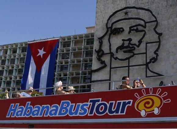 """""""Scanpix""""/AP nuotr./Turistai Kuboje"""