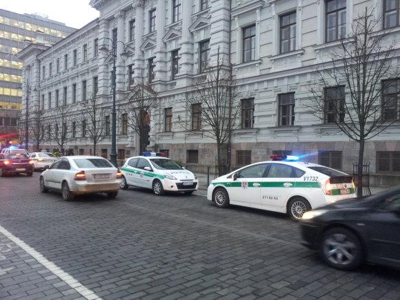 Juliaus Kalinsko/15min.lt nuotr./Vilniuje užminuotas Apeliacinis teismas