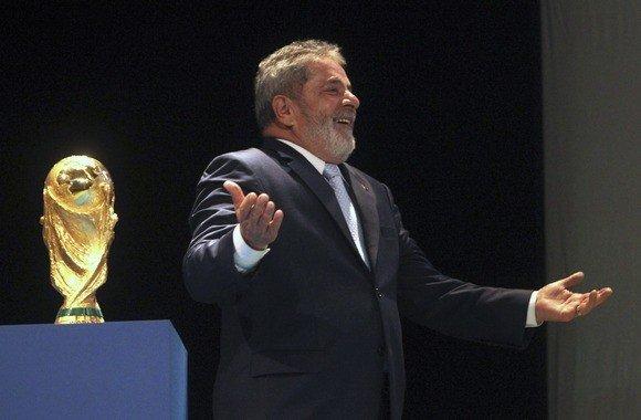 """Reuters""/""Scanpix"" nuotr./Buvęs Brazilijos prezidentas Luizas Inacio Lula da Silva"