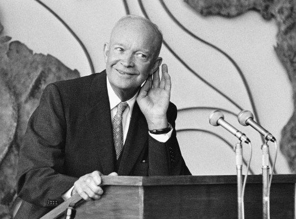 """""""Scanpix""""/AP nuotr./Dwightas Eisenhoweris"""