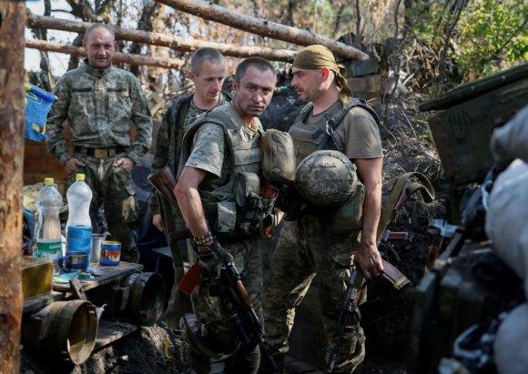 """""""Reuters""""/""""Scanpix"""" nuotr./Ukrainos karių kasdienybė"""