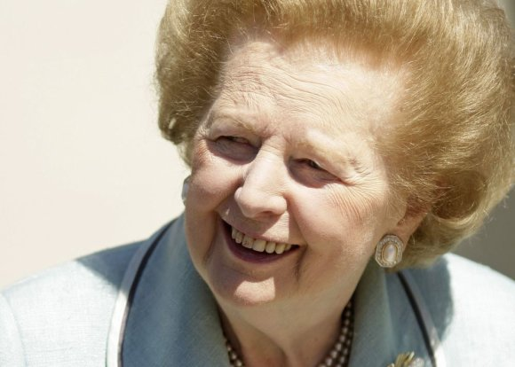 Margaret Thatcher 2009 metais