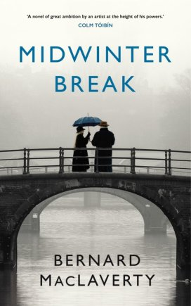 "Knygos viršelis/Knyga ""Midwinter Break"""