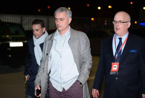 """Scanpix"" nuotr./Jose Mourinho Zagrebe"
