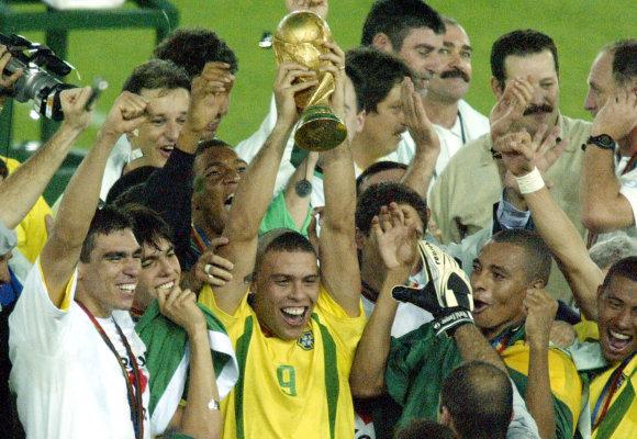 """""""Scanpix"""" nuotr./Ronaldo ir Brazilijos rinktinė"""
