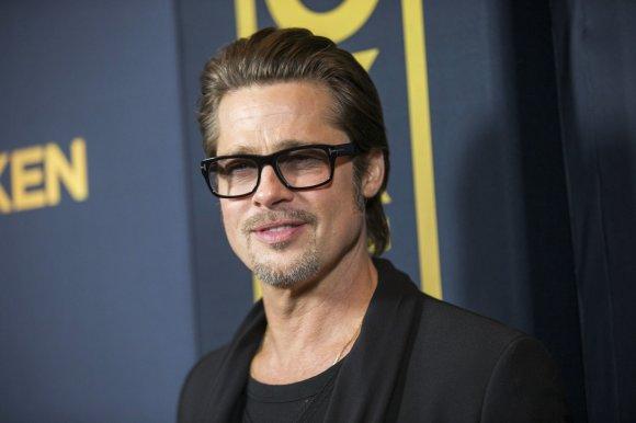 """""""Reuters""""/""""Scanpix"""" nuotr./Bradas Pittas – 16 mln. JAV dolerių"""