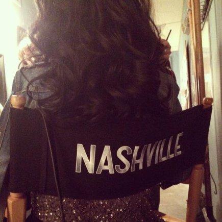 """""""Twitter"""" nuotr./Christina Aguilera serialo """"Nashville"""" filmavimo aikštelėje"""