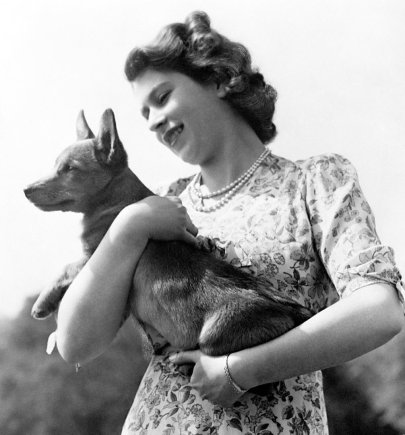"""""""Scanpix""""/""""PA Wire""""/""""Press Association Images"""" nuotr./Karalienė Elizabeth II (1950 m.)"""