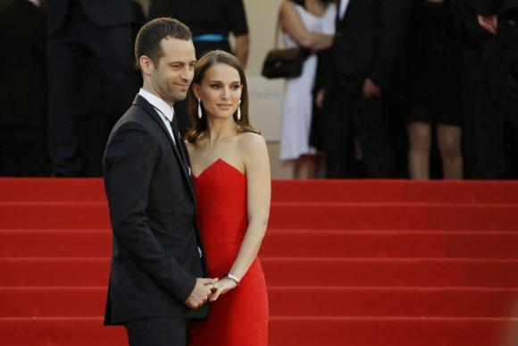 """""""Scanpix""""/AP nuotr./Natalie Portman ir Benjaminas Millepiedas"""