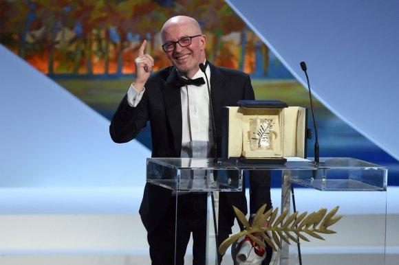 """AFP/""""Scanpix"""" nuotr./Režisierius Jacques'as Audiard'as"""