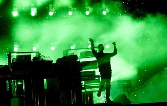 """Scanpix"" nuotr./""The Chemical Brothers"" koncertas Švedijoje"