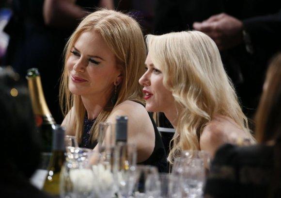 """Reuters""/""Scanpix"" nuotr./Naomi Watts su Nicole Kidman"