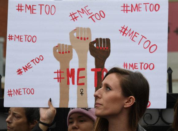 """AFP/""""Scanpix"""" nuotr./Eitynės prieš seksualinį priekabiavimą"""