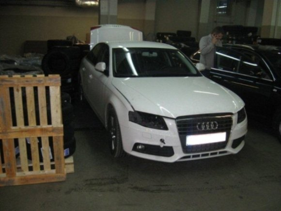 """ERGO Lietuva"" nuotr./Apvogtas ""Audi"" automobilis"