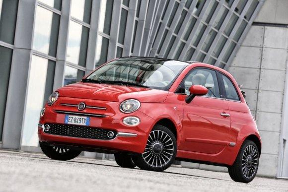 """Fiat"" nuotr./Atnaujintas ""Fiat 500"""