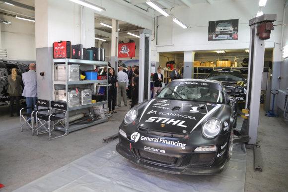 "Juliaus Kalinsko/15min.lt nuotr./""Porsche 911 997 GT3"""