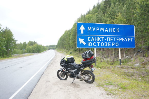 Aido Bubino nuotr./Keliautojų akimirkos Murmanske