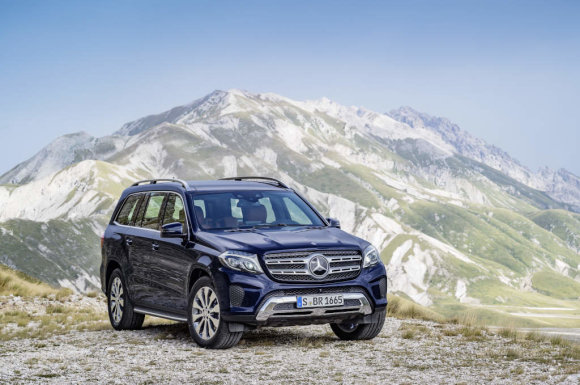 """Mercedes-Benz"" nuotr./""Mercedes-Benz GLS"""