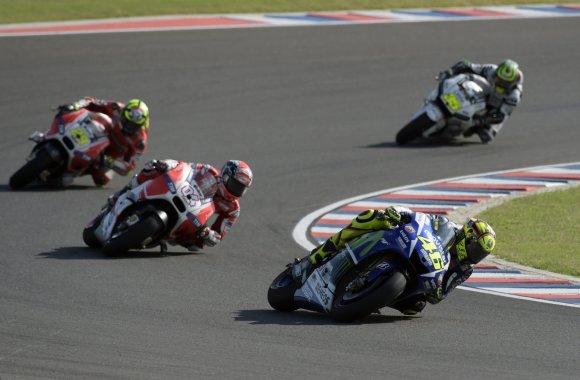 """""""Scanpix"""" nuotr./""""MotoGP"""" varžybos Argentinoje"""