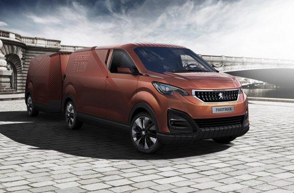 """Peugeot Foodtruck"" koncepcinis automobilis"