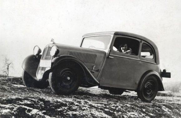 """Škoda"" nuotr./""Škoda 418 Popular"" (1934 m.)"