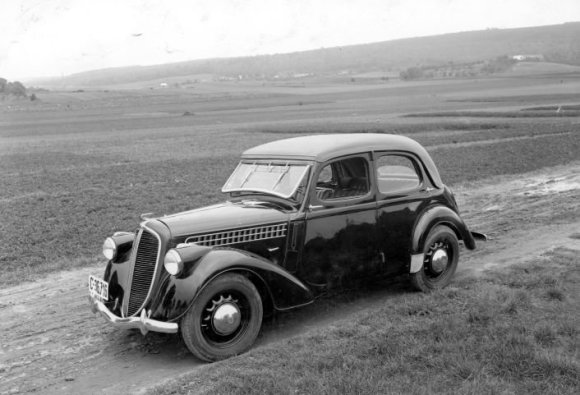 """Škoda"" nuotr./""Škoda Rapid"" (1934 m.)"