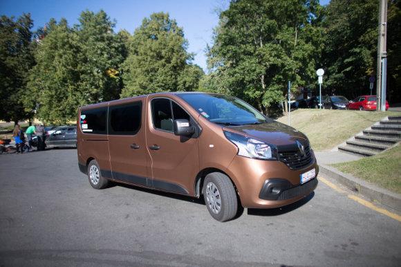 """Andriaus Lauciaus nuotr./Kelionės mikroautobusas – """"Renault Trafic"""""""