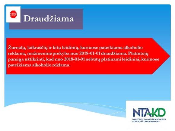 NTAKD nuotr. /NTAKD draudimas