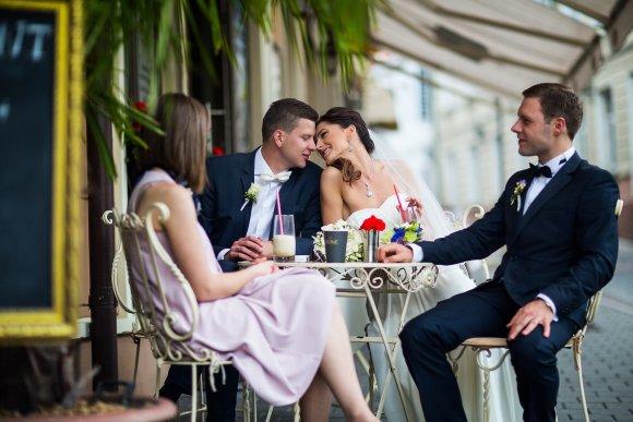 Ilja Sivakovo nuotr./Sigitos ir Artūro Andrijevskių vestuvių akimirka