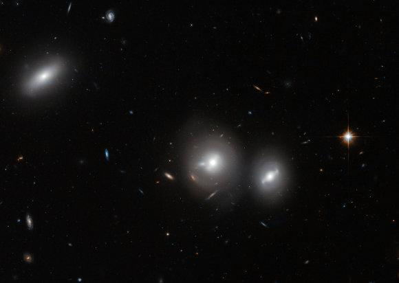 """Nuotr. iš """"Wikipedia""""/Berenikės Garbanų galaktikų spiečius"""