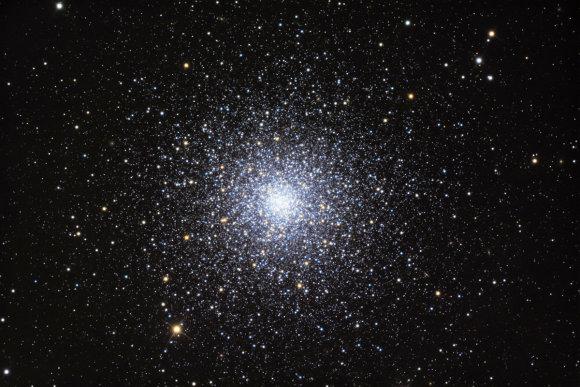 """Nuotr. iš """"Wikipedia""""/M3 per galingą teleskopą"""