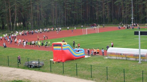 Varėnos rajono savivaldybės nuotr./Varėnos stadione vyks sporto šventė