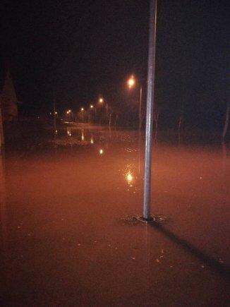 Vytauto Grubliausko nuotr./Potvynis Veterinarijos gatvėje Klaipėdoje