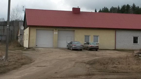 Skaitytojo nuotr./Jašiūnų ugniagesių pastatas