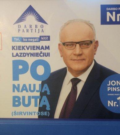 Jono Pinskaus reklamos šaržas
