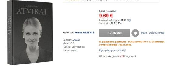 G.Kildišienė išleido knygą