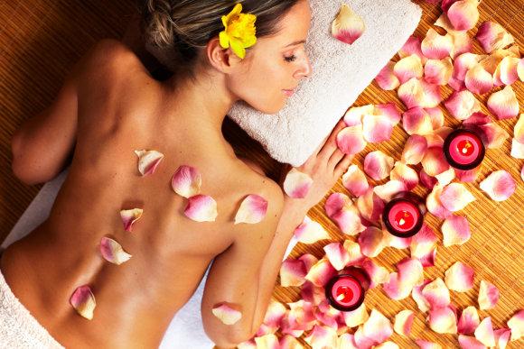 """""""Fotolia"""" nuotr./Aromaterapinis masažas"""