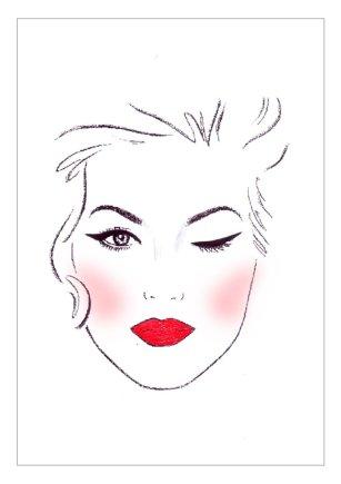 """""""Mary Kay"""" iliustracija/""""Katės akys"""""""