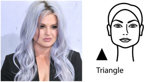 Vida Press nuotr./Veido forma – trikampis: Kelly Osbourne