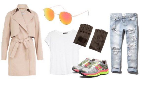 """Gamintojų nuotr./Modevi pavasarinis įvaizdis: drabužių derinys su """"boyfriend"""" tipo džinsais"""