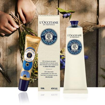 """""""L'occitane"""" nuotr./Produktai su taukmedžių sviestu"""