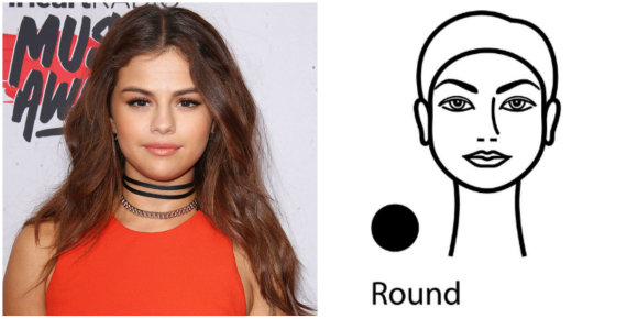 Vida Press nuotr./Veido forma – apskritimas: Selena Gomez