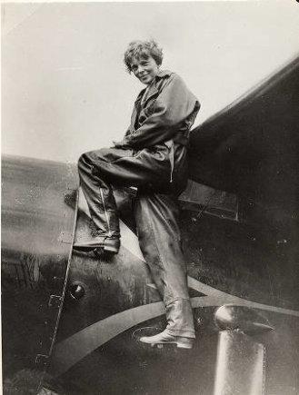 Wikimedia.org nuotr./Amelia Earhart (1935 m.)