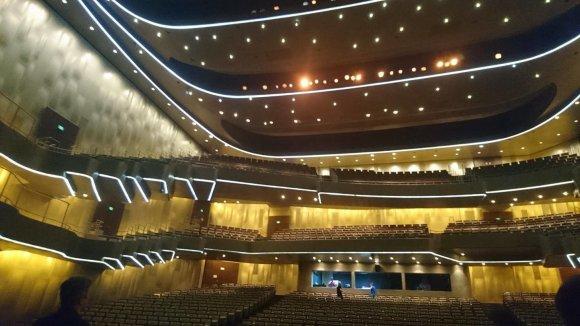 A.Šinkūno nuotr./Šandongo didžiojo teatro salė