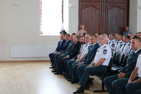 Policijos nuotr./Policijos mokyklą baigė 103 kursantai