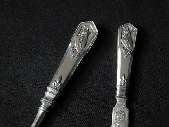 """AFP/""""Scanpix"""" nuotr./Prarasti """"Faberge"""" sidabriniai peiliai netikėtai rasti Lenkijoje"""